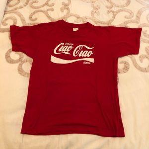 Vintage Coca Cola Roma T shirt